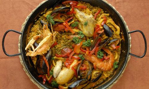 La paella un super restaurant tapas avec paella paris 10e - Restaurant rue des vinaigriers ...
