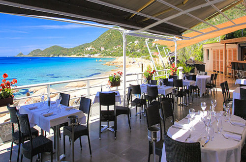 week end ajaccio corse restaurant terrasse