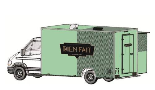 bien fait food truck un food truck gastronomique paris. Black Bedroom Furniture Sets. Home Design Ideas