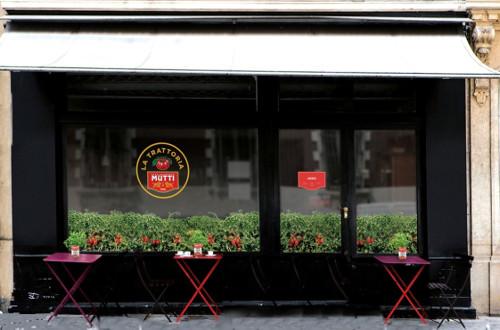 trattoria mutti des repas 100 tomate petits prix paris. Black Bedroom Furniture Sets. Home Design Ideas