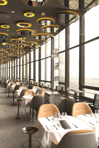 le ciel de paris joli restaurant perch sur la tour