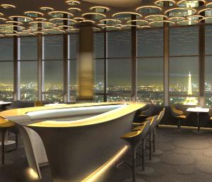 Le ciel de paris un joli restaurant perch en haut de la tour montparnasse for Les plus beaux ilots de cuisine versailles