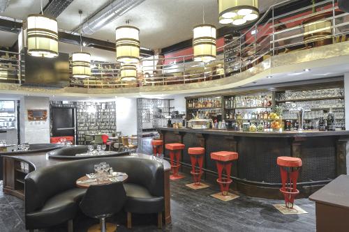 Belmont le resto mode d 39 alfred bernardin rue r aumur for Couleur restaurant tendance