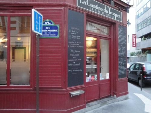 La cantine du troquet rue de l 39 ouest de christian etchebest - La cantine du troquet rungis ...
