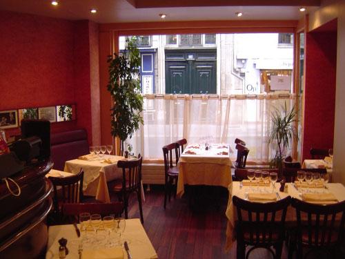 La maison du jardin bon restaurant par cher au luxembourg for Maison du luxembourg restaurant