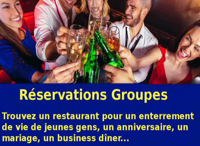 reservation groupe 2