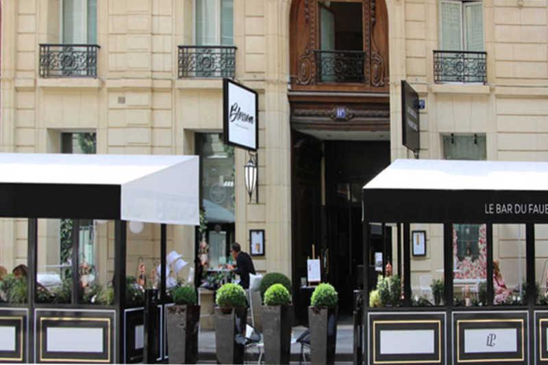 Restaurant Blossom au Sofitel faubourg Paris