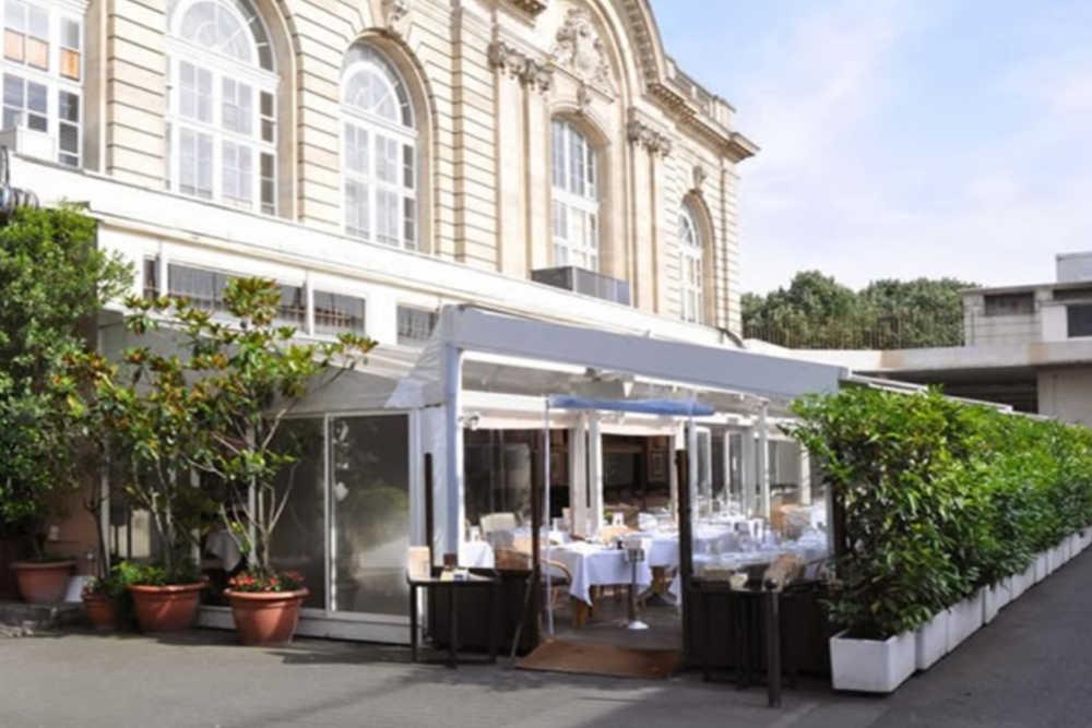 Chez Françoise restaurant aux Invalides, la terrasse