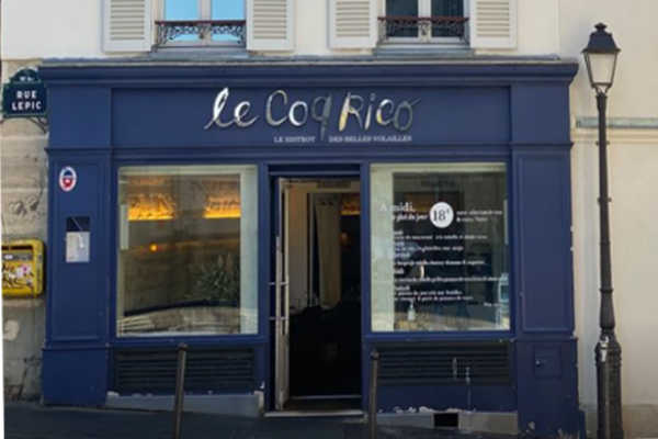 coq rico restaurant paris f