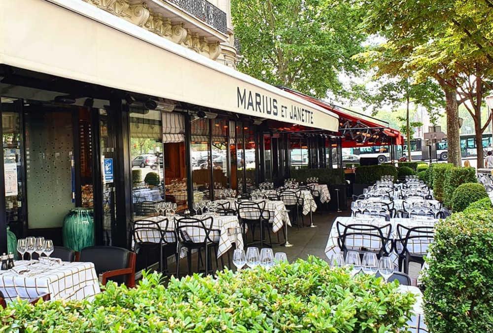 Restaurant de poissons Marius et Janette