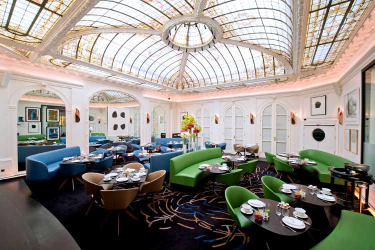 v restaurant vernet paris s