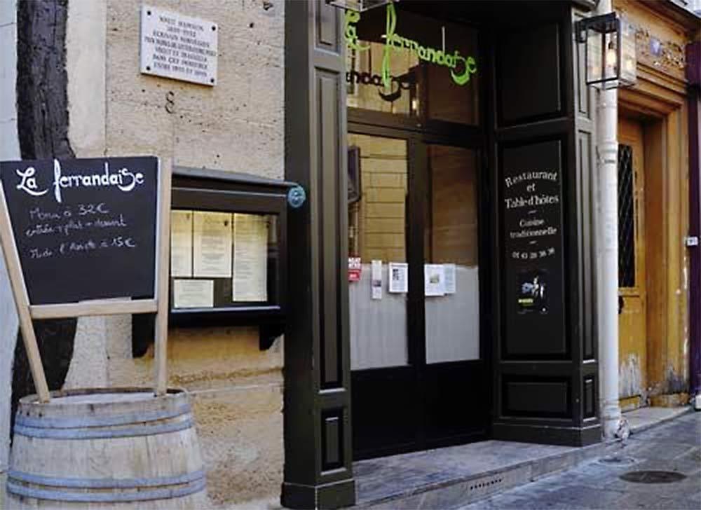Restaurant La Ferrandaise 75005 Paris - Métro Odéon