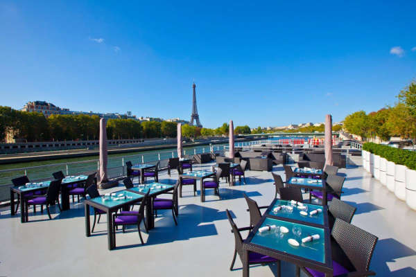 club restaurant paris 75008 terrasse