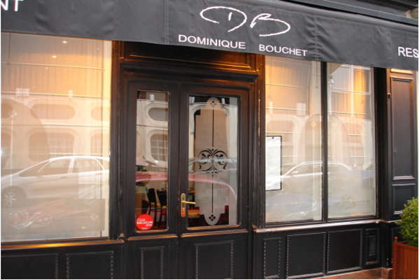 La Saint Valentin au Restaurant Dominique Bouchet à Paris 8e