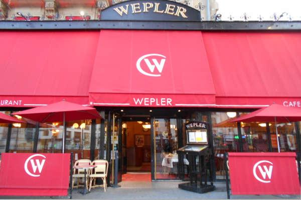 Restaurant le Wepler à Paris 18e
