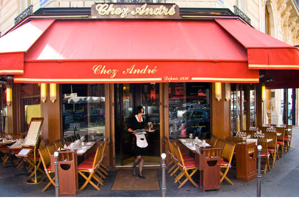 chez andre brasserie champs elysees f