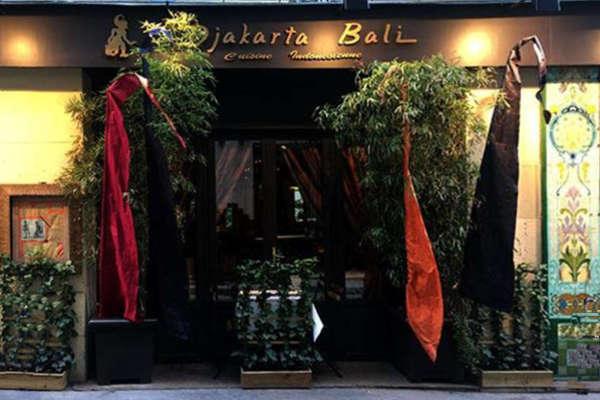 djakarta bali restaurant indonesien à Paris 1er