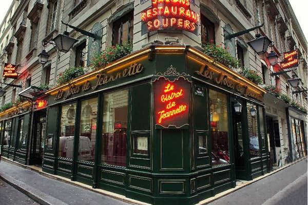 Noces de Jeannette, restaurant sympa, avec salles pour groupes.