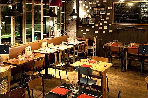 Restaurant La Ferme de Charles, cour des Petites Ecuries à Paris 10e
