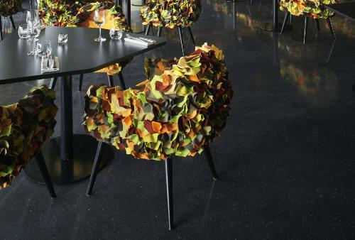 le balcon la philharmonie de paris restaurant perch avec vue. Black Bedroom Furniture Sets. Home Design Ideas