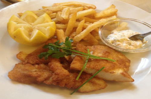 Le Café du Commerce, restaurant brasserie du 15e, le fish and chips