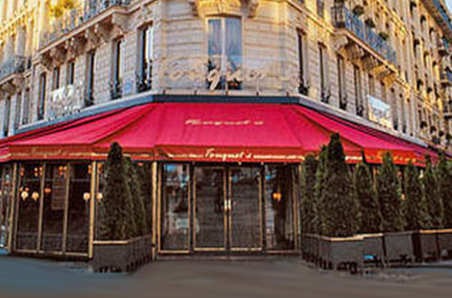 Le Fouquet s restaurant avenue George v à Paris