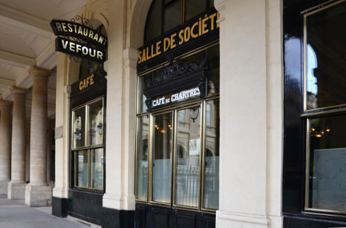 Restaurant le Grand Vefour de Guy Martin au Palais Royal