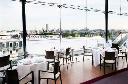 La Maison Blanche restaurant avenue montaigne à Paris 8e 75008