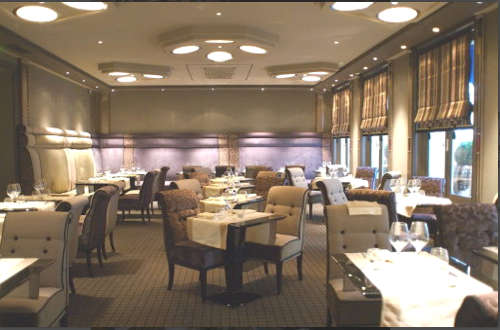 Goumard un beau et excellent restaurant marin à la madeleine