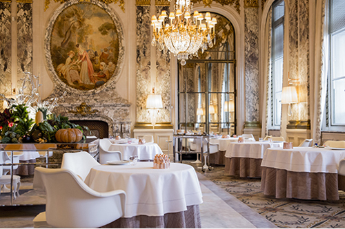 restaurant etoiles paris
