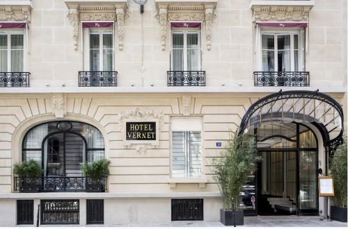 Le V restaurant de l'Hôtel Vernet