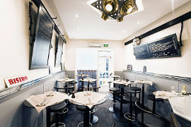 Restaurant Zinc Caius 75017 Paris
