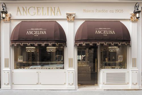 Angelina rive gauche salon de th p tisserie paris - Salon patisserie paris ...