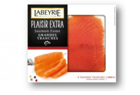 saumon labeyrie plaisir extra tranches