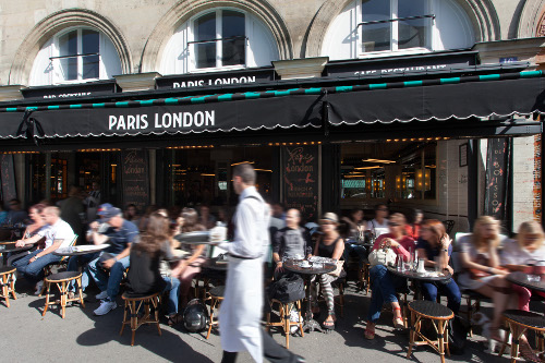 Paris London, burger restaurant Métro Madelene