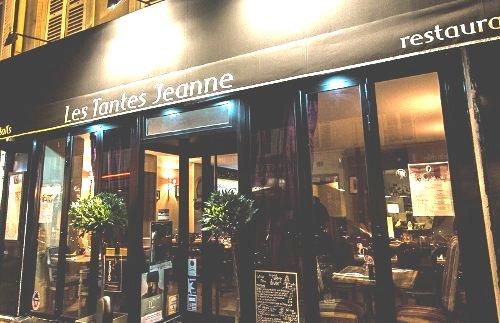 Tantes Jeanne, restaurant Métro Blanche