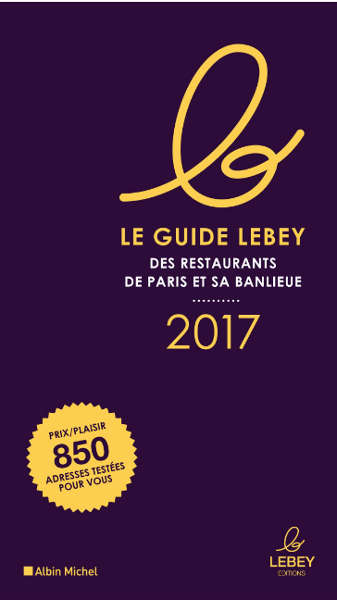 lebey des restaurants de paris 2017