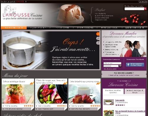 Larousse Cuisine Sur Le Net Derni Res News