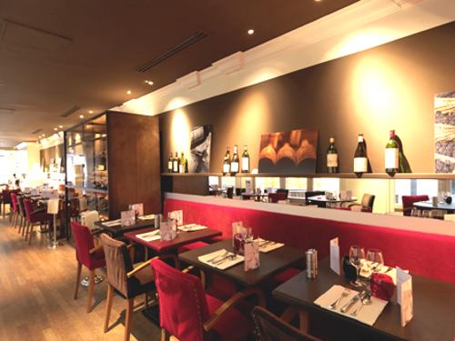 Caf moderne un restaurant mode et sympa la bourse paris - Deco restaurant moderne ...