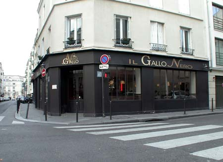 Restaurant Italien Il Gallo Nero à Paris 14e