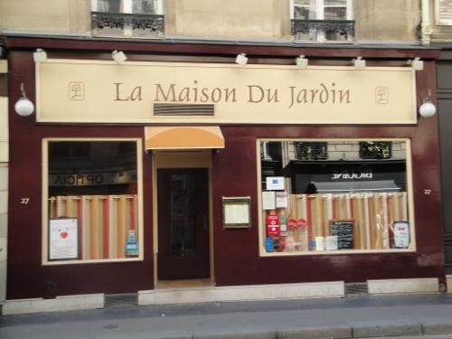La Maison du Jardin, bon restaurant par cher au Luxembourg à Paris