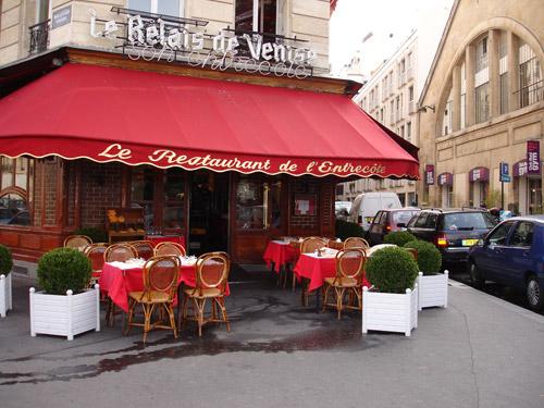 Restaurant le relais de venise dit l 39 entrec te un must - Restaurant les portes paris ...