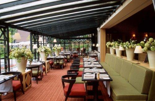 Roland Garros, un restaurant avec une superbe terrasse