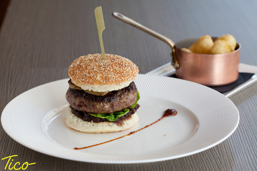 Le Hamburger du Restaurant Tico à Paris 8e